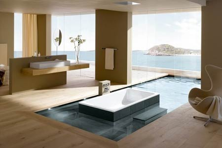 Simple Dream Bathrooms Decor